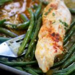 Sheet Pan Chicken & Green Beans | That Low Carb Life