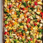 Sheet Pan Chicken And Rainbow Vegetables – Recipes Chicken Vegetables