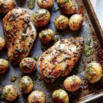 Sheet Pan Chicken With Roasted Baby Potatoes Recipe | MyRecipes – Recipes Chicken Breast With Potatoes