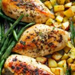 Sheet Pan Garlic Herb Butter Chicken & Potatoes – Recipes Potato And Chicken
