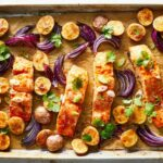 Sheet Pan Harissa Salmon With Potatoes And Citrus | Recipe ..