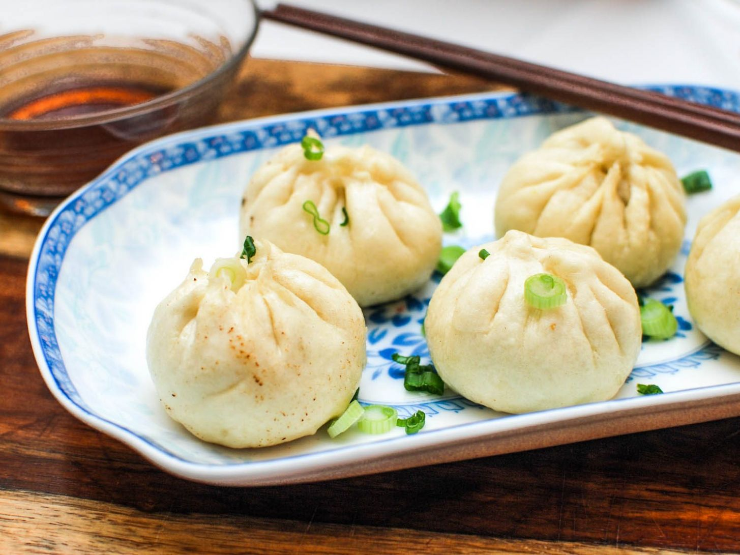 Sheng Jian Bao (Pan-Fried Pork Soup Dumplings) Recipe - Recipe Pork Dumplings Steamed