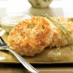 Shrimp And Rice Patties With Creamy Cilantro Sauce | Think Rice – Recipes Rice Patties