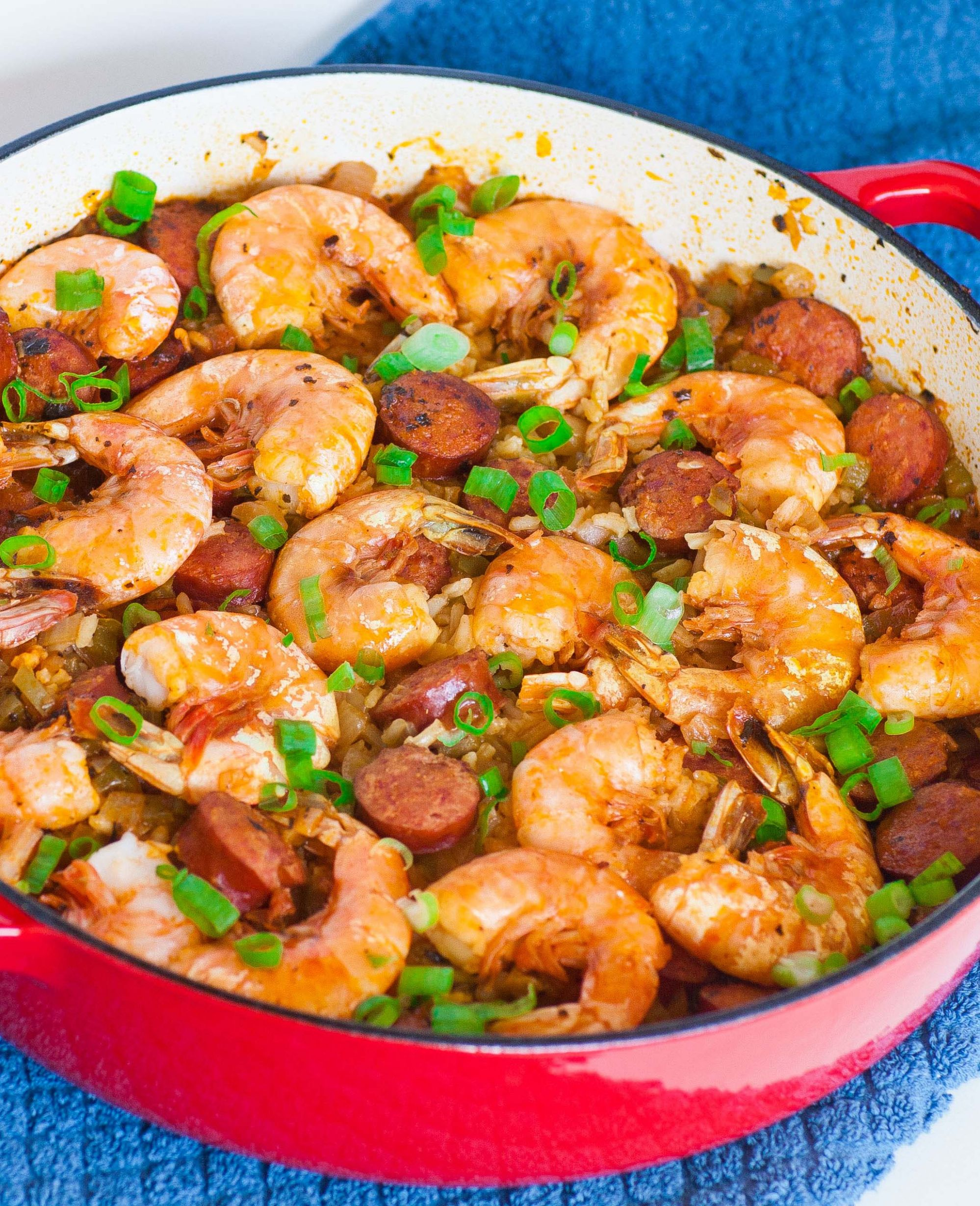 Shrimp and Sausage Jambalaya - Easy Recipes Jambalaya