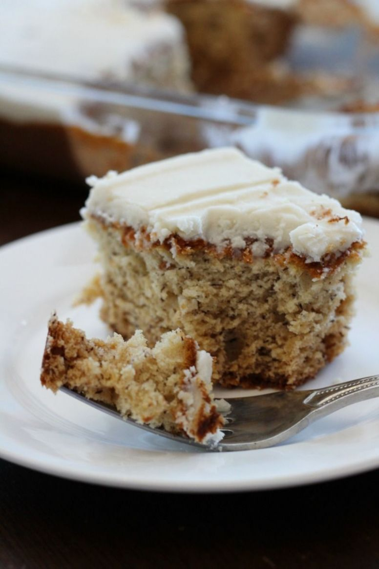 Simple Banana Cake - Cake Recipes Pinterest