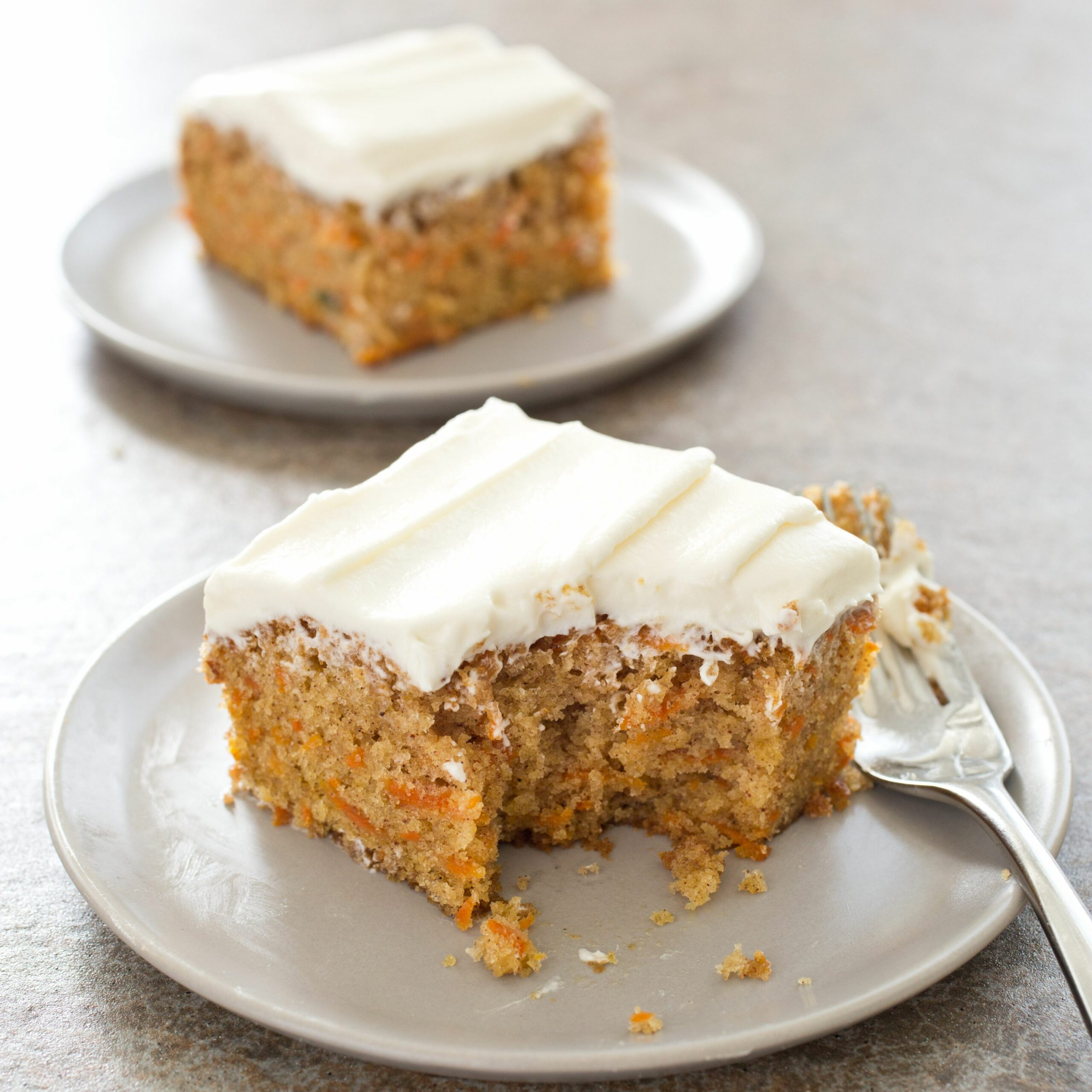 Simple Carrot Cake with Cream Cheese Frosting - Simple Recipes Carrot Cake