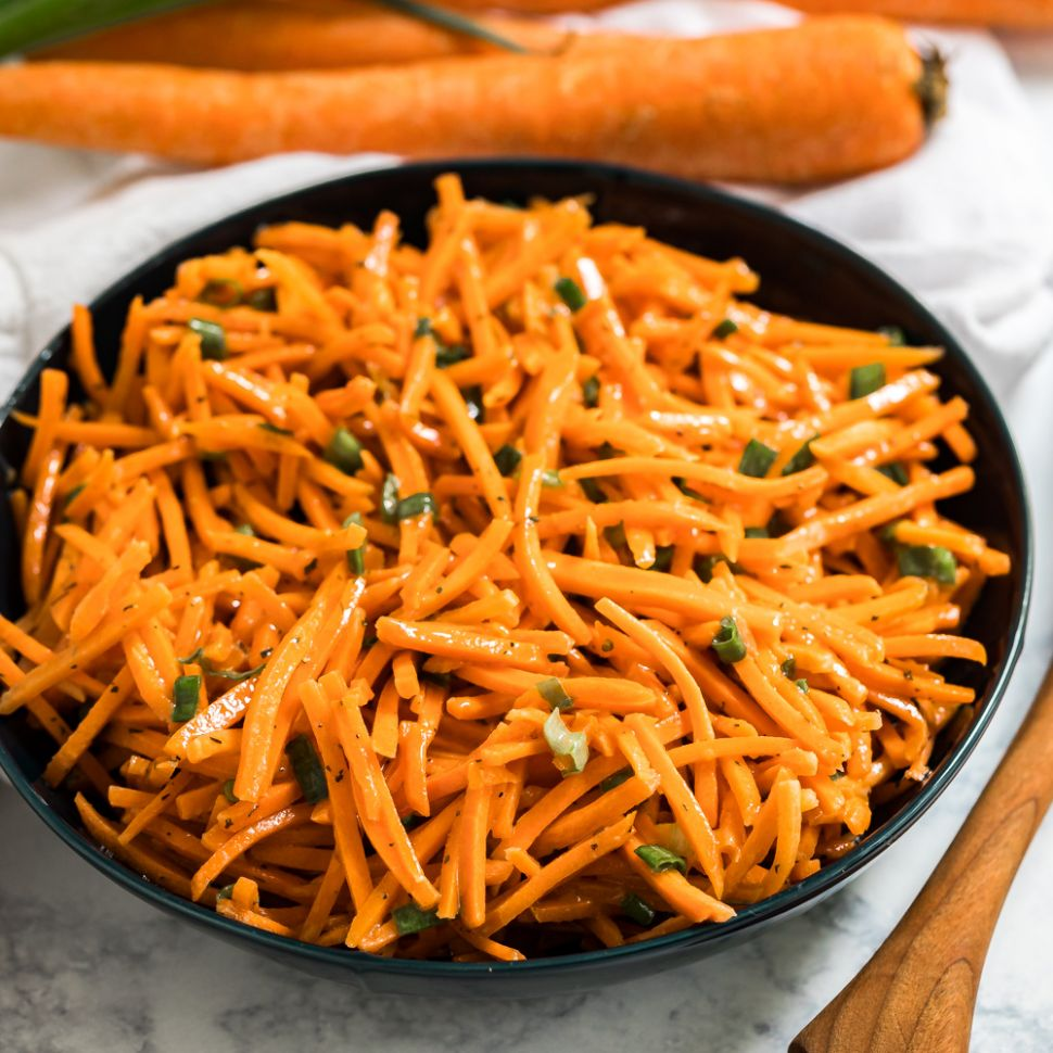 Simple Carrot Salad - Salad Recipes Simple