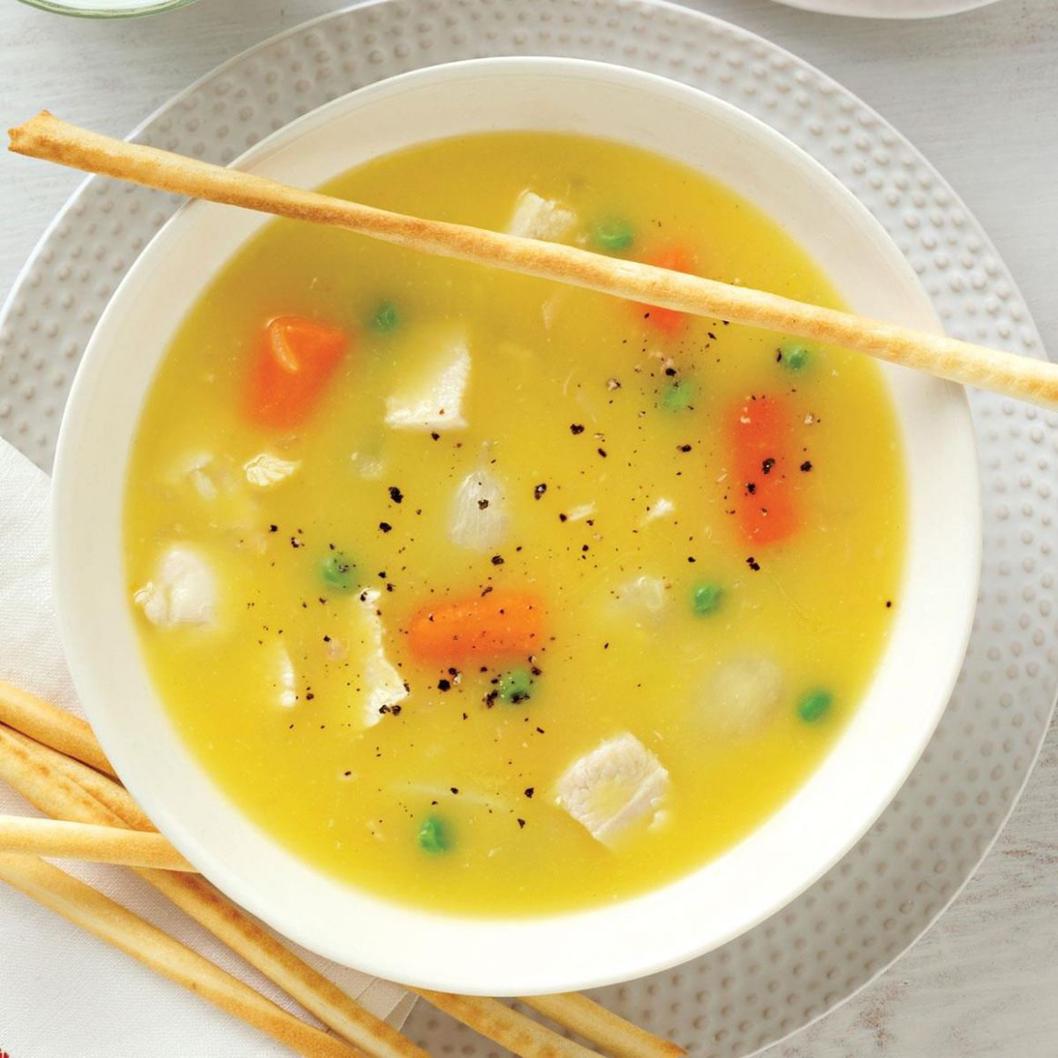 Simple Chicken Soup - Soup Recipes Using Chicken Stock