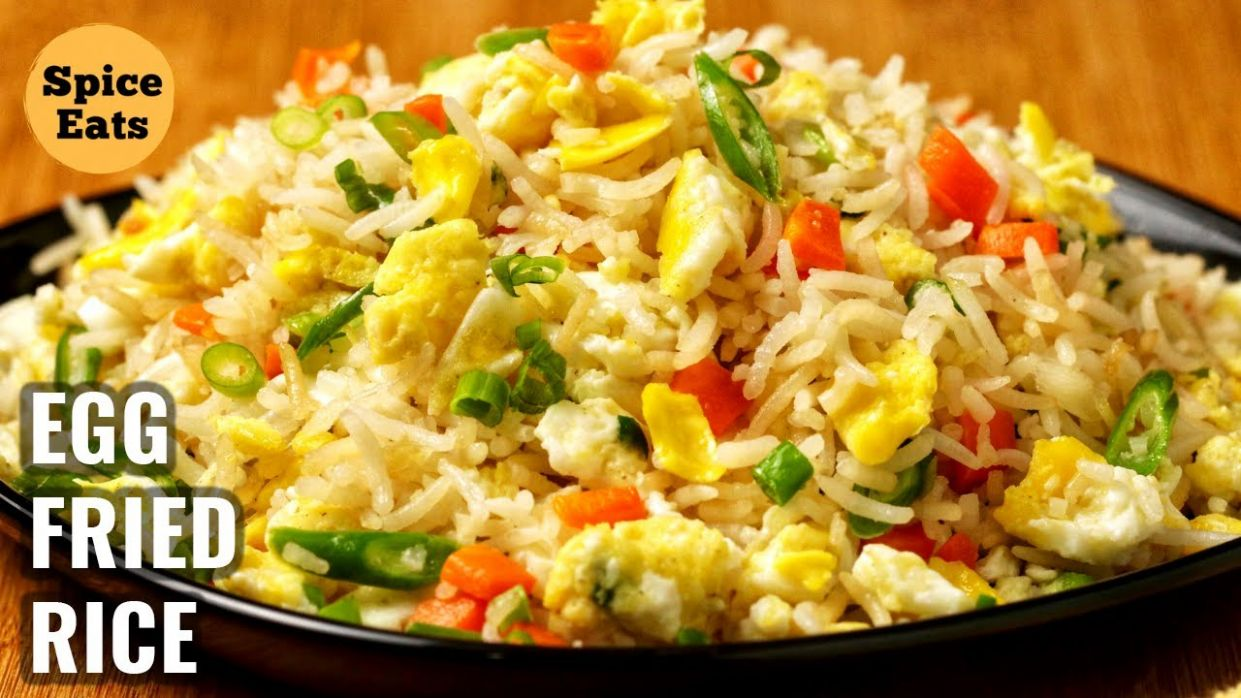 SIMPLE EGG FRIED RICE AT HOME | EGG FRIED RICE CHINESE STYLE | EGG FRIED  RICE - Recipes Egg Rice