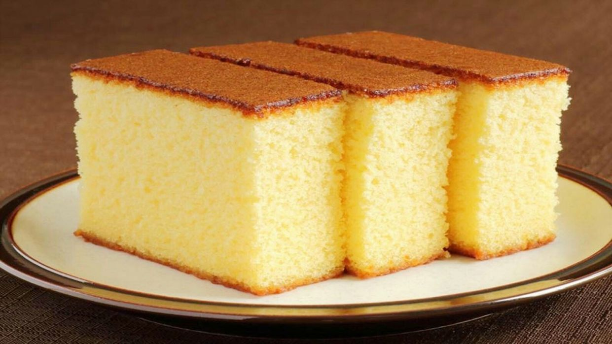 Simple Eggless Vanilla Sponge Cake Recipe || No Oven Sponge cake ||  Pressure cooker cake - Cake Recipes Eggless