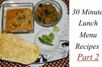 Simple Lunch Menu Recipe | Indian Non Veg Lunch Ideas | Non Veg Meals