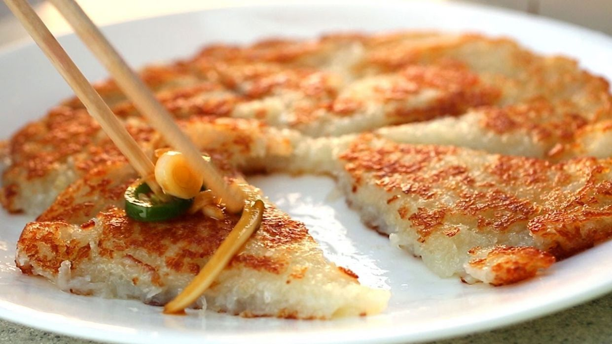 Simple potato pancake (Gamjajeon: 감자전) recipe - Maangchi.com
