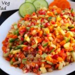 SIMPLE SALAD RECIPES – FRUIT AND VEGETABLE SALAD RECIPE / QUICK ..