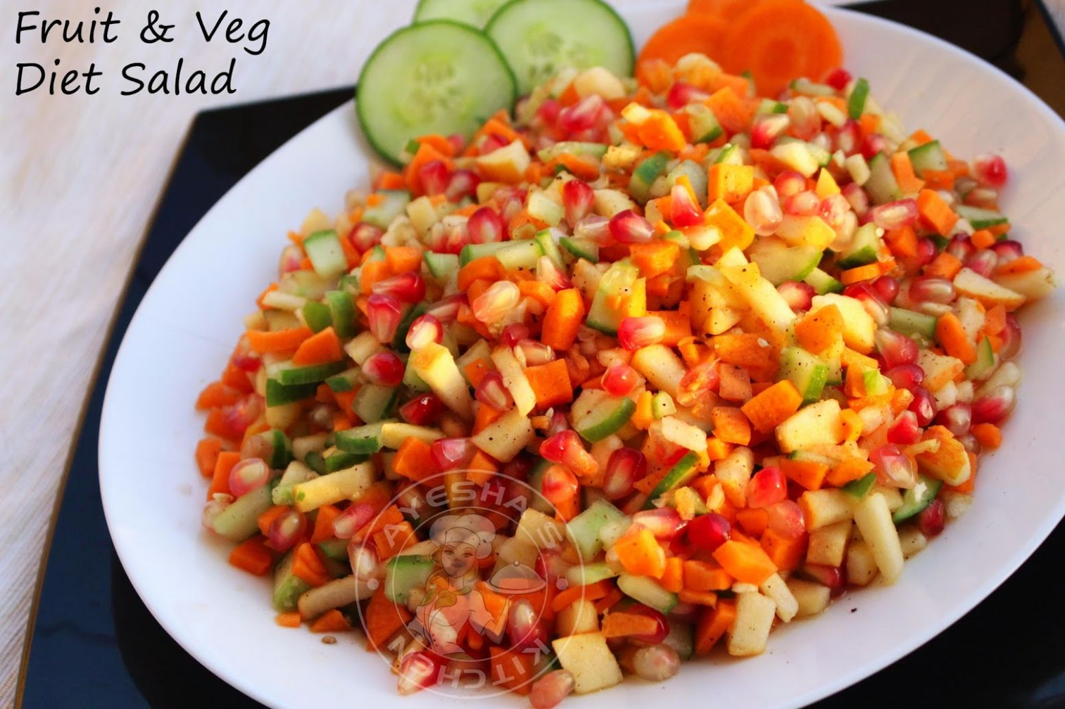 SIMPLE SALAD RECIPES - FRUIT AND VEGETABLE SALAD RECIPE / QUICK ..