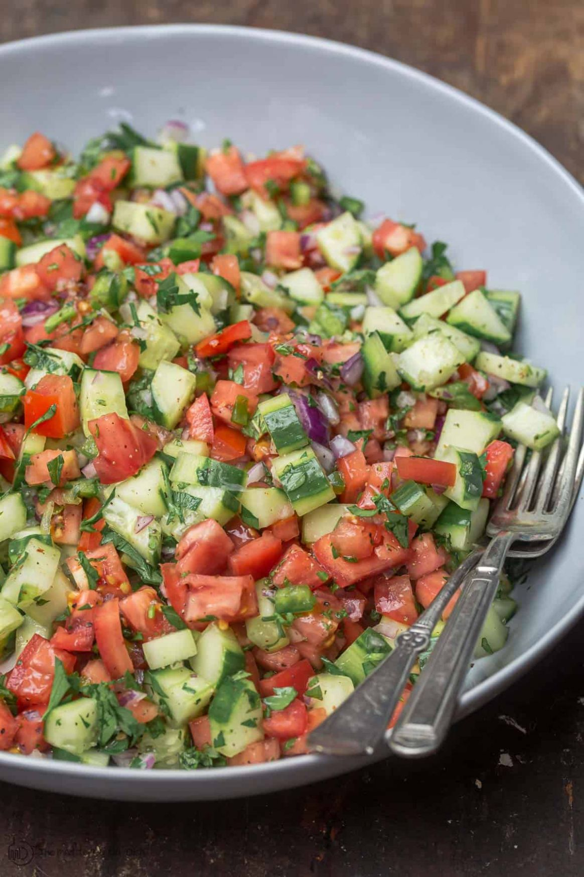Simple Shirazi Salad Recipe - Salad Recipes Simple