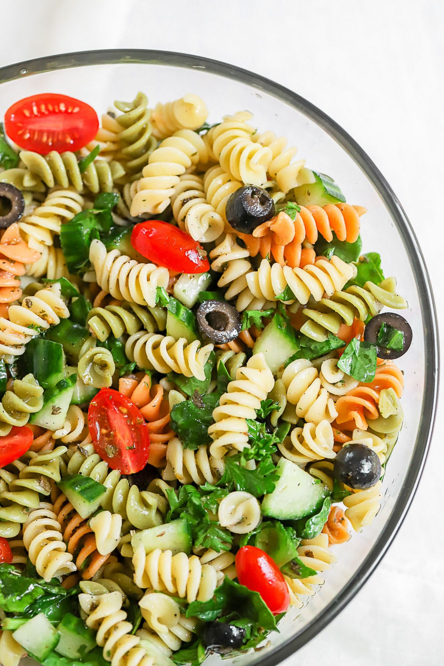Simple Summer Pasta Salad - Summer Recipes Pasta