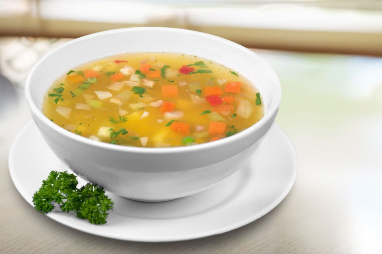 Simple Vegetable Soup - Soup Recipes For Diabetics
