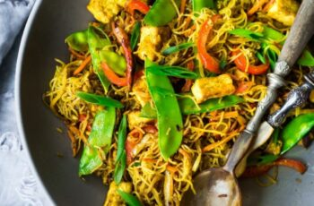 Singapore Noodles! | Feasting At Home