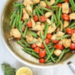 Skillet Chicken With Green Beans And Tomatoes: One Pan Meal – Recipe Chicken Breast Green Beans