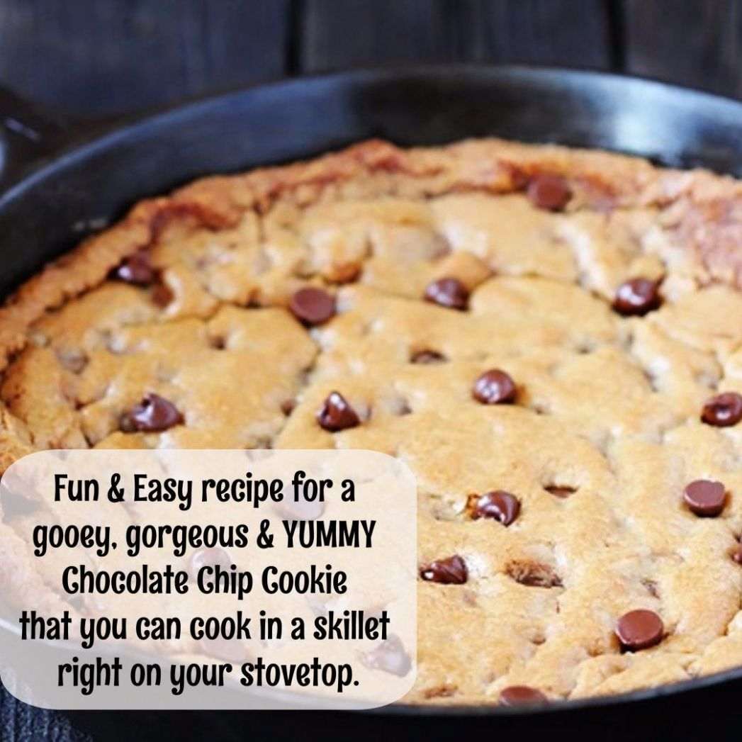 Skillet Cookie Recipes - Deep Dish Cookies Made In a Cast Iron ..