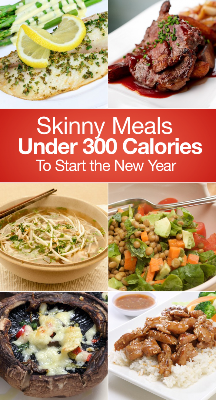Skinny Meals Under 12 Calories To Start the New Year | 12 ..