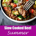 Slow Cooked SUMMER Beef Casserole – Summer Recipes Meat