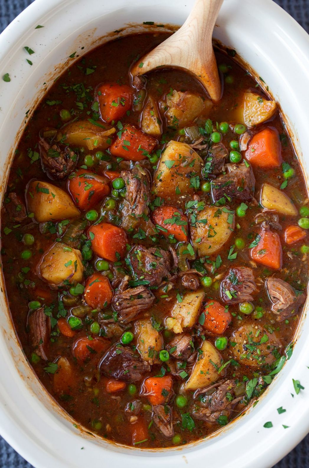 Slow Cooker Beef Stew - Recipes Vegetable Beef Soup Slow Cooker