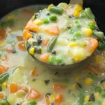 Slow Cooker Creamy Vegetable Soup + RECIPE VIDEO – Recipes Soup Slow Cooker