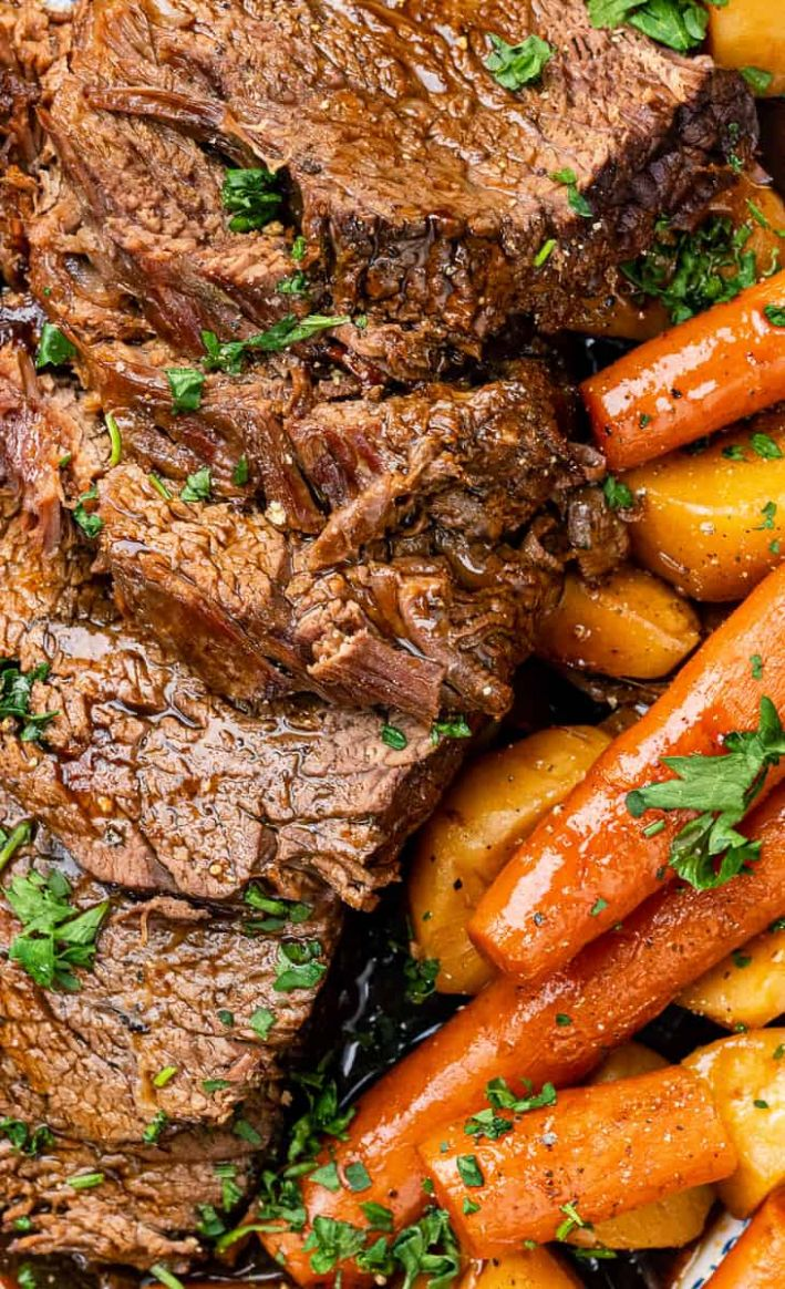 Slow Cooker Roast Beef - Recipes Beef Joint