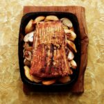 Slow Roast Pork Belly With Quince Recipe | Delicious