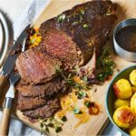 Slow Roasted Beef With Mustard Potatoes – Beef Recipes In Oven