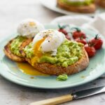 Smashed Avocado On Toast With Poached Eggs And Tomatoes – Breakfast Recipes Avocado