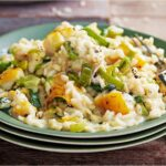 Smoked haddock and leek risotto