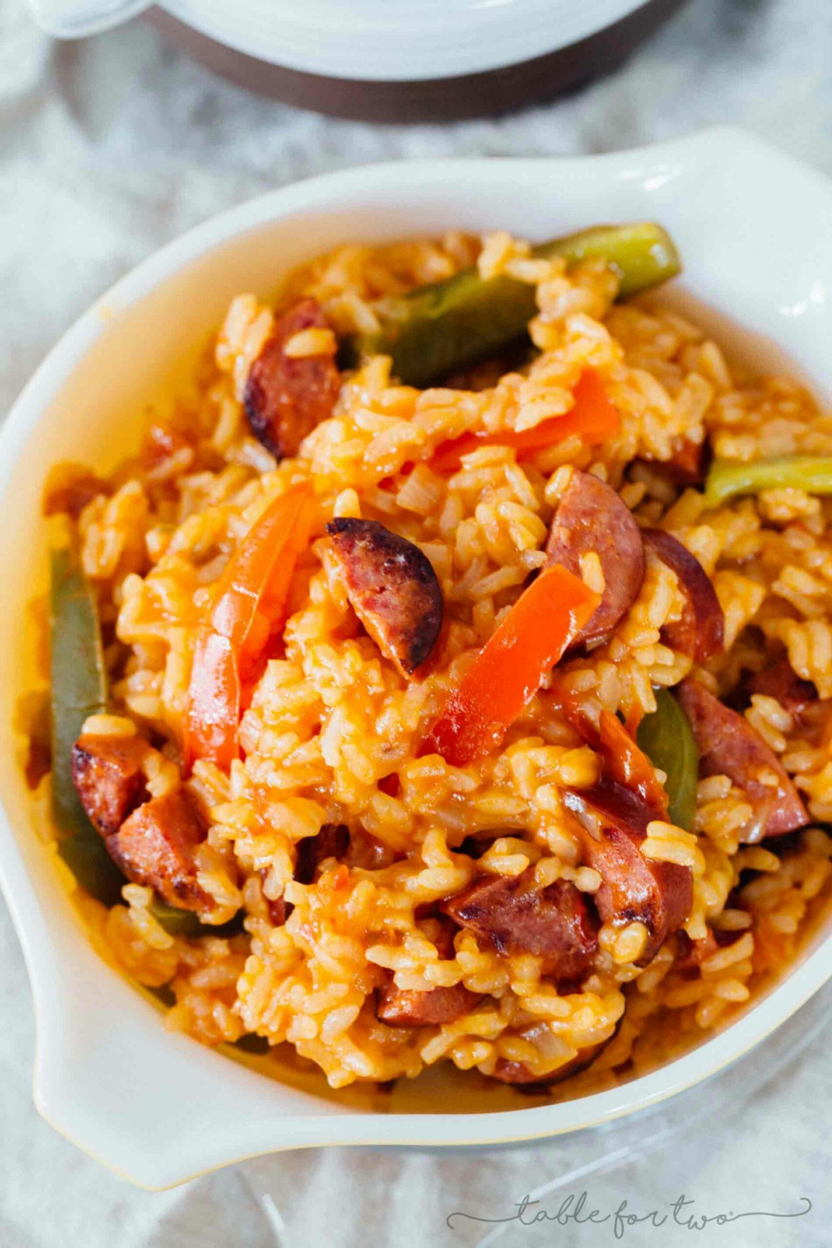 Smoked Sausage and Peppers with Rice - Recipes Rice Sausage