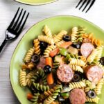 Smoked Sausage Pasta Salad – Recipes With Summer Sausage And Pasta