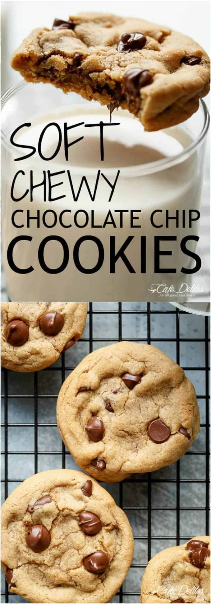 Soft Chewy Crisp Chocolate Chip Cookies - Simple Recipes Cookies