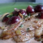 Sole Veronique With Fresh Herbs And Sweet Red Grapes | Karista's ..