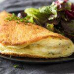Soufflé Omelette With Cheese Recipe – Egg Omelette Recipe