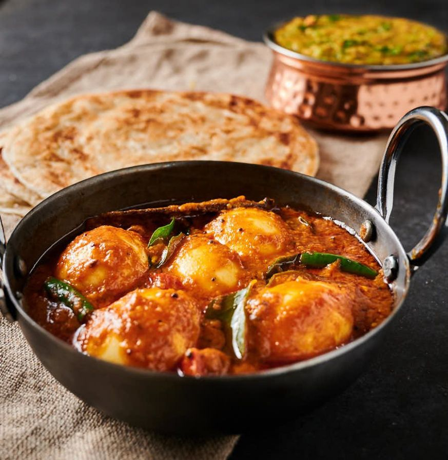 South Indian egg curry - Recipes Egg Curry
