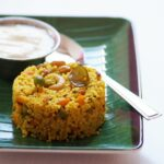 South Indian Foxtail Millet Upma Recipe