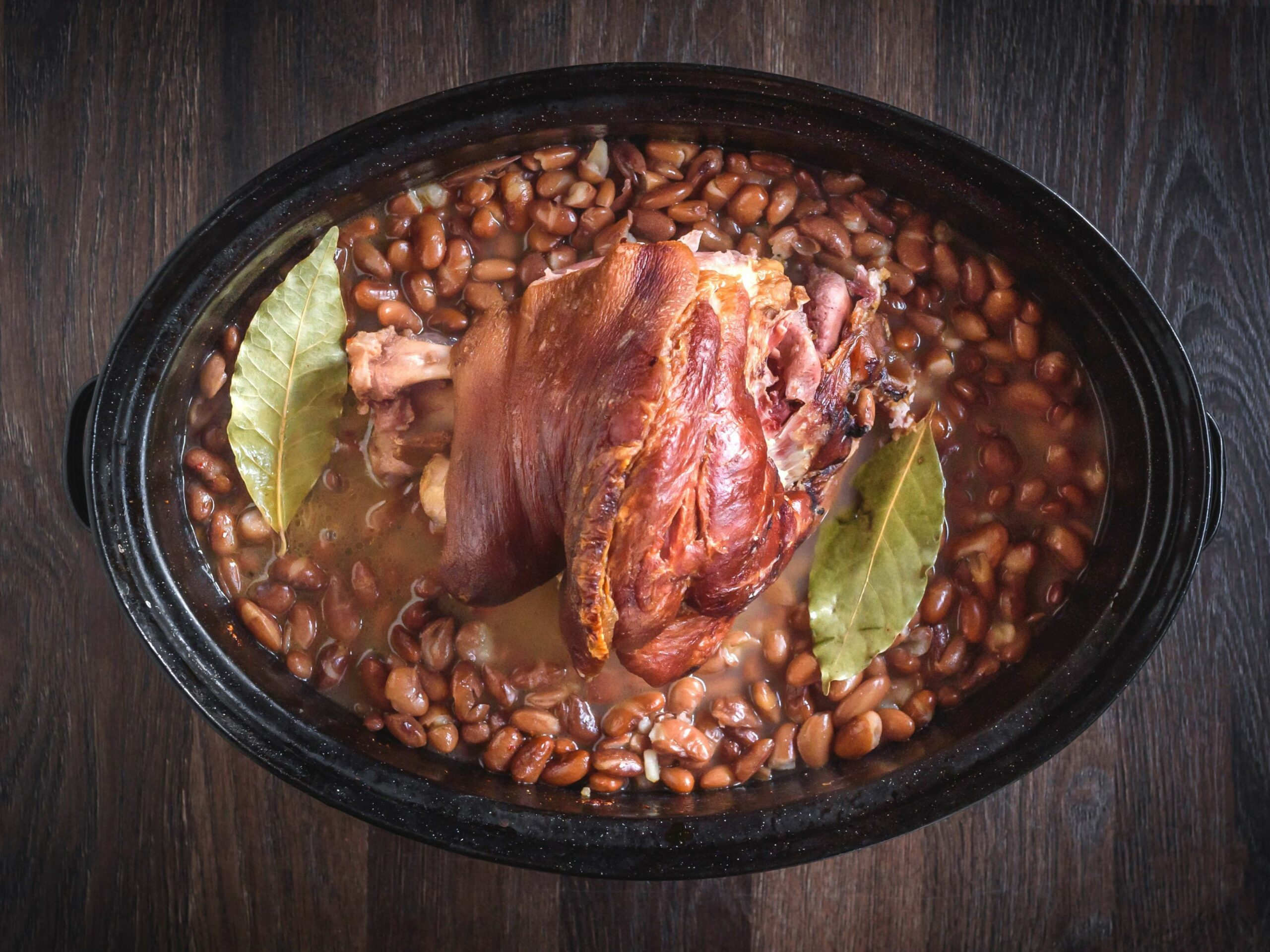Southern Crock Pot Pinto Beans With Ham Hocks - Recipes Pork Hocks Slow Cooker