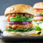 Southwest Grilled Ground Chicken Burger – Recipes Chicken Burgers