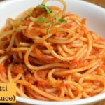 Spaghetti In Tomato Sauce | Spaghetti Recipe | Red Sauce Spaghetti Pasta – Pasta Recipes Red Sauce