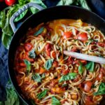 Spaghetti With Fresh Tomato Sauce | Feasting At Home – Recipes Pasta Sauce Fresh Tomatoes