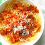 Spaghetti With Fresh Tomato Sauce – Pasta Recipes In Red Sauce