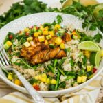Spiced Fish With Mango Salsa And Brown Rice Salad – Recipe Fish With Mango Salsa