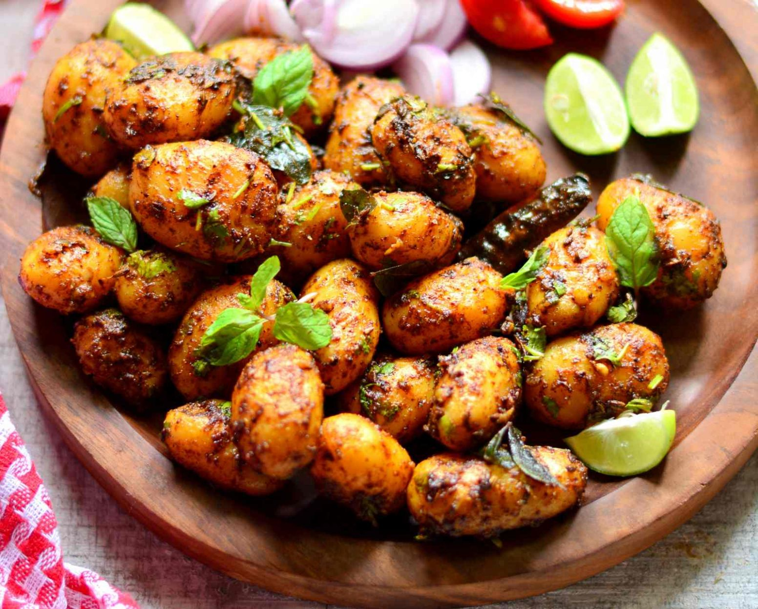Spicy Baby Potatoes Recipe - Potato Recipes For Babies