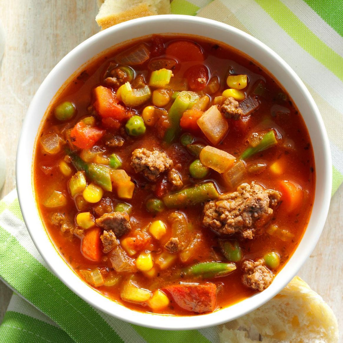 Spicy Beef Vegetable Stew - Recipes Veg Beef Soup