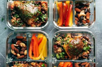 Spicy Chicken Meal Prep with Rice and Beans Recipe - Pinch of Yum