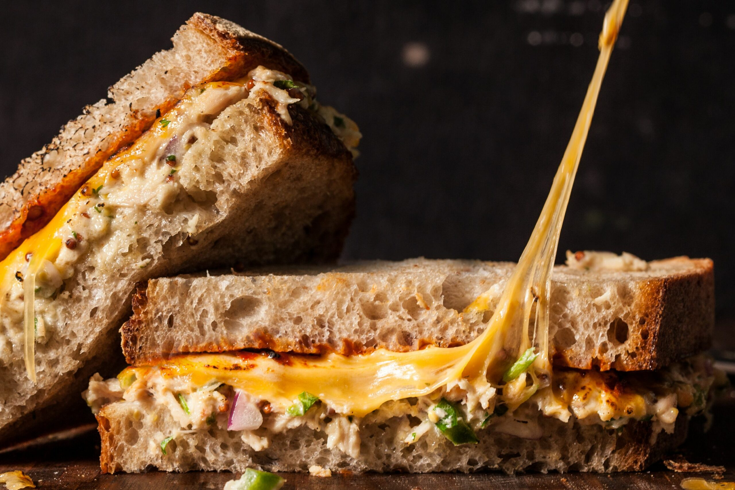 Spicy Chipotle Tuna Melt Sandwiches - Recipes Sandwich Melts